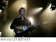 Coldplay in Concert (2005 год). Редакционное фото, агентство Caro Photoagency / Фотобанк Лори