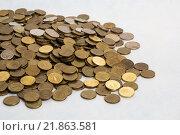 Монеты. Стоковое фото, фотограф Александра Согомонова / Фотобанк Лори
