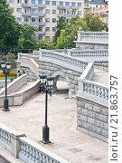 Лестницы Храма Христа Спасителя (2015 год). Стоковое фото, фотограф Parmenov Pavel / Фотобанк Лори