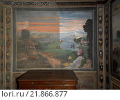 Купить «Saints Maurus and Placidus (San Mauro e San Placido), by Anonymous, 16th Century, fresco», фото № 21866877, снято 10 декабря 2018 г. (c) age Fotostock / Фотобанк Лори