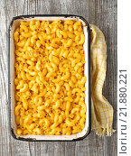 Купить «mac and cheese», фото № 21880221, снято 24 февраля 2019 г. (c) PantherMedia / Фотобанк Лори