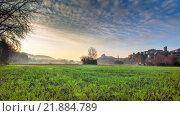 Купить «Viviers im stimmungsvollen Morgen Sonnenlicht», фото № 21884789, снято 18 июля 2019 г. (c) PantherMedia / Фотобанк Лори