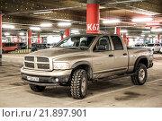 Купить «Dodge Ram 1500», фото № 21897901, снято 7 февраля 2016 г. (c) Art Konovalov / Фотобанк Лори