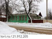 Деревянный дом в г.Семенов (2016 год). Стоковое фото, фотограф Николай Грушин / Фотобанк Лори