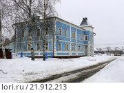 Здание банка в г.Семенов (2016 год). Стоковое фото, фотограф Николай Грушин / Фотобанк Лори