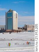 Купить «Администрация президента Чувашской Республики в Чебоксарах», фото № 21913205, снято 23 февраля 2016 г. (c) Александр Якимов / Фотобанк Лори