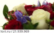 Купить «Яркий букет цветов», видеоролик № 21939969, снято 10 февраля 2016 г. (c) Юлия Машкова / Фотобанк Лори