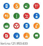 Купить «Industrial simply icons», иллюстрация № 21953633 (c) PantherMedia / Фотобанк Лори