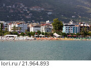 Купить «Alanya - the beach of Aladdin . Alanya is one of most popular seaside resorts in Turkey», фото № 21964893, снято 28 мая 2018 г. (c) PantherMedia / Фотобанк Лори