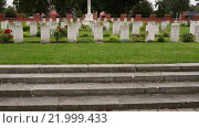 Купить «Memorial of Red Army soldiers in Malbork, Poland», видеоролик № 21999433, снято 15 октября 2015 г. (c) BestPhotoStudio / Фотобанк Лори