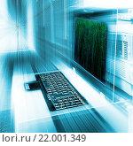 Пульт управление сервером. Стоковое фото, фотограф Тимофеев Владимир / Фотобанк Лори