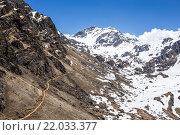 Путь на перевал. Стоковое фото, фотограф Моргулян Михаил / Фотобанк Лори