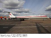 Самолет Ил-62М авиакомпании Air Koryo на рулении в Шереметьево (2015 год). Редакционное фото, фотограф Sergey Kustov / Фотобанк Лори