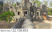 Купить «Храмы в Ангкор-Ват, Камбоджа», видеоролик № 22138853, снято 11 марта 2016 г. (c) Михаил Коханчиков / Фотобанк Лори