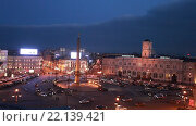 Купить «Санкт-Петербург. Вид сверху на площадь Восстания», эксклюзивный видеоролик № 22139421, снято 11 марта 2016 г. (c) Литвяк Игорь / Фотобанк Лори