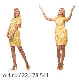 Купить «Composite photo of woman in various poses», фото № 22178541, снято 1 сентября 2014 г. (c) Elnur / Фотобанк Лори