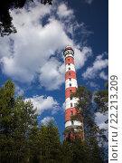 Старый маяк. Ладожское озеро. Стоковое фото, фотограф Василий Вострухин / Фотобанк Лори