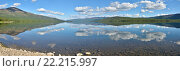 Плато Путорана. Панорама озера Накомякен. Стоковое фото, фотограф Сергей Дрозд / Фотобанк Лори