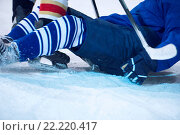 Купить «ice hockey player in action», фото № 22220417, снято 26 мая 2020 г. (c) easy Fotostock / Фотобанк Лори