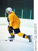 Купить «ice hockey player in action», фото № 22220517, снято 26 мая 2020 г. (c) easy Fotostock / Фотобанк Лори