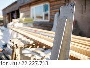 Купить «Цементные плиты», фото № 22227713, снято 13 марта 2016 г. (c) Евгений Майнагашев / Фотобанк Лори