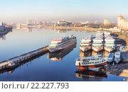Корабли на реке Неве (2016 год). Редакционное фото, фотограф Александр Невский / Фотобанк Лори