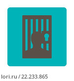 Купить «Prison icon», фото № 22233865, снято 20 февраля 2019 г. (c) easy Fotostock / Фотобанк Лори