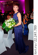 Купить «Tulip 2015 Gala: The German Parkinson's Disease Foundation at Hotel Berlin-Brandenburg Featuring: Franziska Schuster Where: Berlin, Germany When: 10 Oct 2015 Credit: AEDT/WENN.com», фото № 22241789, снято 10 октября 2015 г. (c) age Fotostock / Фотобанк Лори