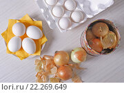 Яйца к Пасхе. Стоковое фото, фотограф Евгения Воронина / Фотобанк Лори