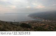 Купить «Summer Morning Kefalonia Coastline (Greece)», видеоролик № 22323013, снято 20 марта 2016 г. (c) Юрий Брыкайло / Фотобанк Лори