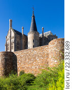 Купить «Ancient town walls and Episcopal Palace of Astorga», фото № 22332689, снято 14 ноября 2019 г. (c) Яков Филимонов / Фотобанк Лори