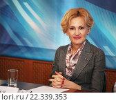 Купить «Ирина Яровая», фото № 22339353, снято 24 марта 2016 г. (c) Андрей Ярцев / Фотобанк Лори