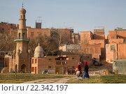 Купить «Вид на старую часть города Кашгар Синьцзян-Уйгурского автономного района Китая», фото № 22342197, снято 23 марта 2016 г. (c) Николай Винокуров / Фотобанк Лори