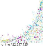 Купить «Multicolor Musical Design», иллюстрация № 22357725 (c) PantherMedia / Фотобанк Лори