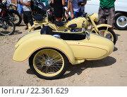 Мотоцикл ИЖ-49 (2013 год). Редакционное фото, фотограф Игорь Ясинский / Фотобанк Лори