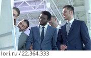 Купить «Business people at meeting in office», видеоролик № 22364333, снято 22 марта 2016 г. (c) Raev Denis / Фотобанк Лори