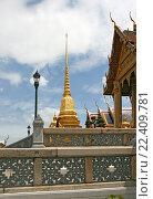 Купить «Таиланд. Бангкок. Королевский дворец.», фото № 22409781, снято 11 августа 2015 г. (c) Евгений Тиняков / Фотобанк Лори