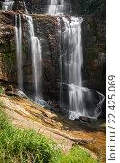 Горный водопад. Стоковое фото, фотограф Игорь Горелик / Фотобанк Лори