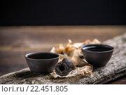 Купить «Pu erh tea», фото № 22451805, снято 18 августа 2018 г. (c) PantherMedia / Фотобанк Лори