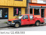Купить «Chevrolet LUV», фото № 22458593, снято 20 ноября 2015 г. (c) Art Konovalov / Фотобанк Лори