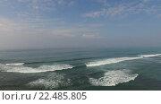 Купить «sea or ocean waves and blue sky», видеоролик № 22485805, снято 20 февраля 2016 г. (c) Syda Productions / Фотобанк Лори
