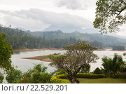Купить «view to lake or river from land hills on Sri Lanka», фото № 22529201, снято 16 февраля 2016 г. (c) Syda Productions / Фотобанк Лори