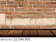 Купить «Composite image of wooden desk», фото № 22544905, снято 19 июля 2019 г. (c) Wavebreak Media / Фотобанк Лори