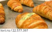 Video of croissants. Стоковое видео, агентство Wavebreak Media / Фотобанк Лори