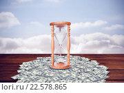 Купить «Composite image of hourglass», фото № 22578865, снято 17 января 2019 г. (c) Wavebreak Media / Фотобанк Лори