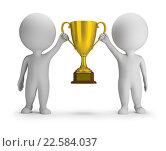 Купить «Два победителя», иллюстрация № 22584037 (c) Anatoly Maslennikov / Фотобанк Лори