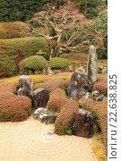 Купить «Japan, Takahashi, Raikyuji Temple, garden, Okayama Prefecture,.», фото № 22638825, снято 27 января 2016 г. (c) age Fotostock / Фотобанк Лори