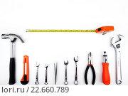 Купить «Инструменты», фото № 22660789, снято 12 апреля 2016 г. (c) Евгений Дробитько / Фотобанк Лори