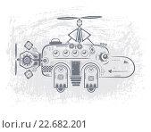 Купить «Вертолет-бегемот», иллюстрация № 22682201 (c) Дмитрий Никитин / Фотобанк Лори