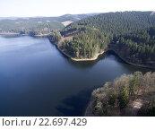 Горное озеро в Германии. Стоковое фото, фотограф Дмитрий Сузан / Фотобанк Лори